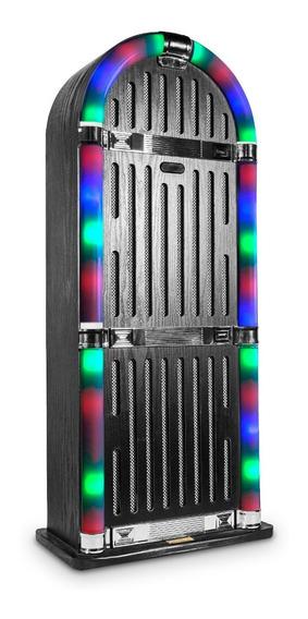 Caixa De Som Retrô Jukebox 8000 240w 80w Rms Bluetooth Usb