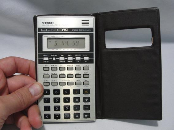 Antiga Calculadora Cientifica Dismac Hf 87lc Anos 80