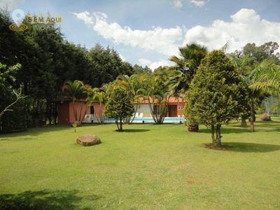 Chácara Com 6 Dormitórios À Venda Por R$ 1.850.000 - Alto Da Serra Do Japi - Cabreúva/sp - Ch0014