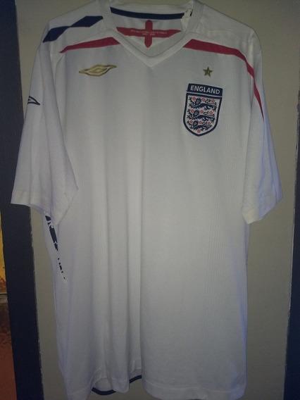 Camiseta De La Selección De Inglaterra 2007-2009 Umbro