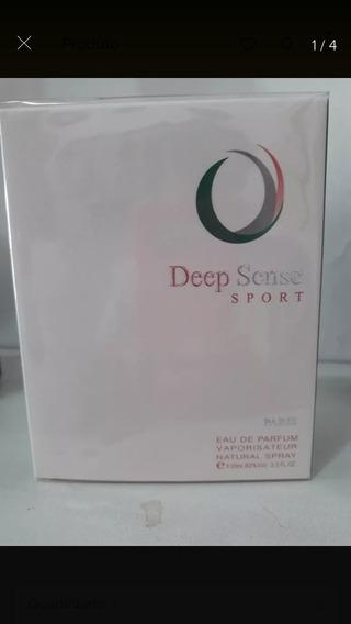 Perfume Deep Sense Sport Masculino Edp 100ml Original