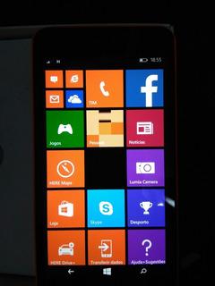 Smartphone Microsoft Lumia 640xl 1 Chip Estado De Quase Novo