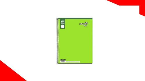 10 Cuadernos Estrella Profesional C5 100h Kid Cuadro Grande