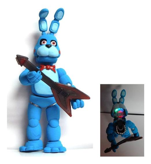 Five Nights At Freddys Figura Toy Bonnie Articulado Luz Led