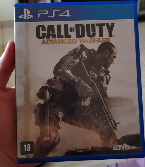 Call Of Duty Advanced Warfare Mídia Física - Ps4