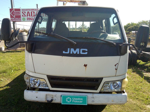 Camion Jmc Nkr Jx3041 Volcadora Doble Cabina
