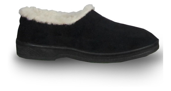 Terraflex 209 Zapatilla Mocasín Paño Con Corderito Mujer