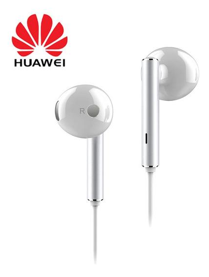 Huawei Honor Am116 Fone De Ouvido Com Microfone Branco