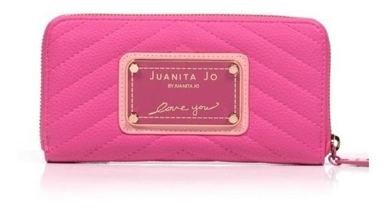 Billetera Juanita Jo Brand.inv20 Originales!