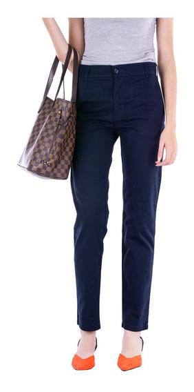 Pantalón Gabardina Tiro Alto Mujer - B A Jeans