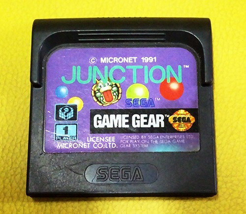 Junction Game Gear Cartucho Jogo Original