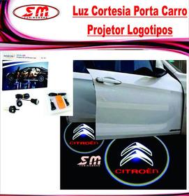 Luz De Cortesia Projetor Logomarca Citroen Aircross Xsara
