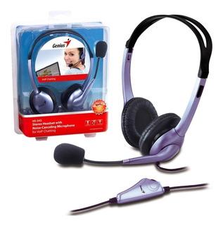 Auriculares Con Microfono Genius Hs-04s Vincha Skype Tienda