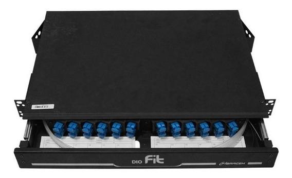 Dio Distribuidor Optico 12fo Sc-upc Ou Sc-apc Completo C/nf
