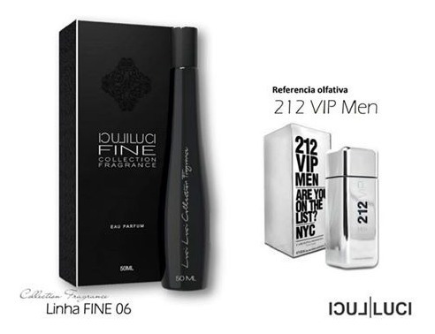 Perfume Luciluci 212 Vip Men 50ml Barato M06