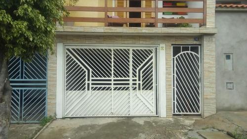 Sobrado Residencial À Venda, Parque Continental Ii, Guarulhos. - So6286