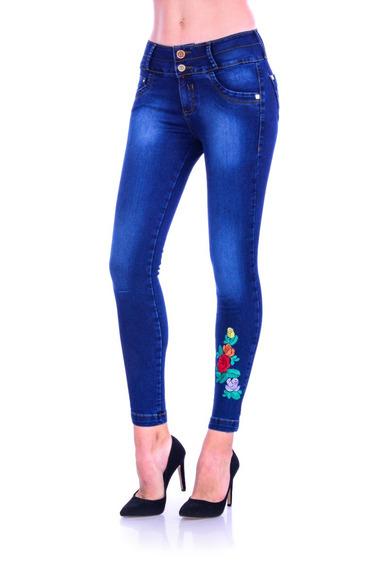 Pantalón De Mezclilla Jeans Gal-903