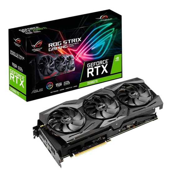 Placa Video Geforce Rtx 2080ti 11gb Asus Strix Gaming Mexx 2