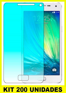 Kit Pelicula Vidro 200 Unidades Atacado Tela Lg Samsung Sony