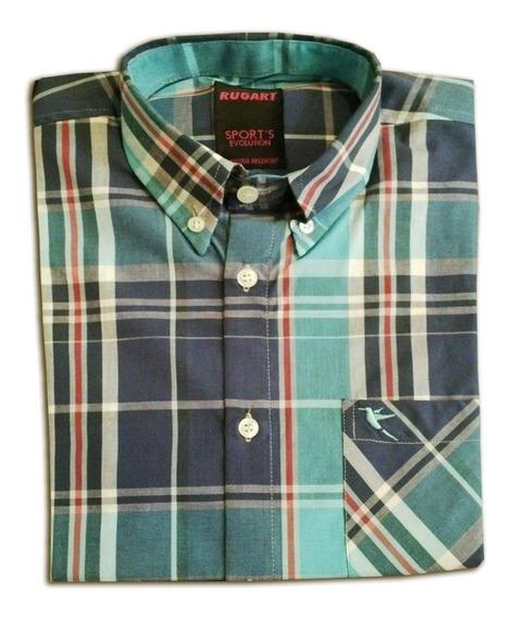 Camisa Escocesa De Hombre Con Envio Gratís !!
