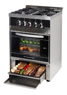 Cocina Industrial Sol Real 4 H 58cm Parrilla Inferior Cuotas