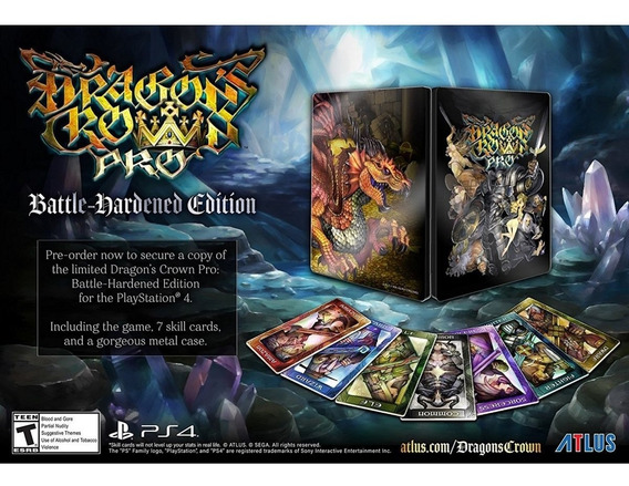 Dragons Crown Pro Hardened Edition Ps4 Mídia Física Lacrado