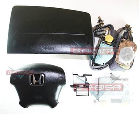 Honda Civic 01 05 Kit Air Bag Bolsas Cintos Modulo