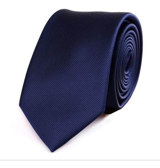 Corbata Delgada Slim. Hecha A Mano. 6 Cm De Ancho.