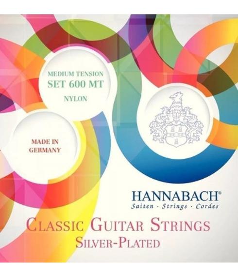 Encordado Criolla Hannabach 600mt Silver Plated