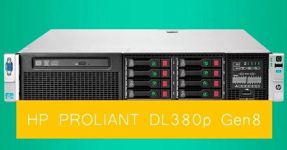 Servidor Hp Proliant Dl380p G8 Xeon Octacore 32 Gb 600 Gb