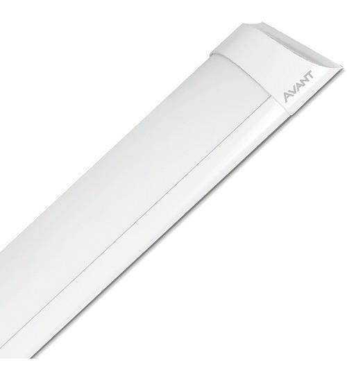 Kit 10 Luminaria Linear Sobrepor Kian Ksx 60cm 18w