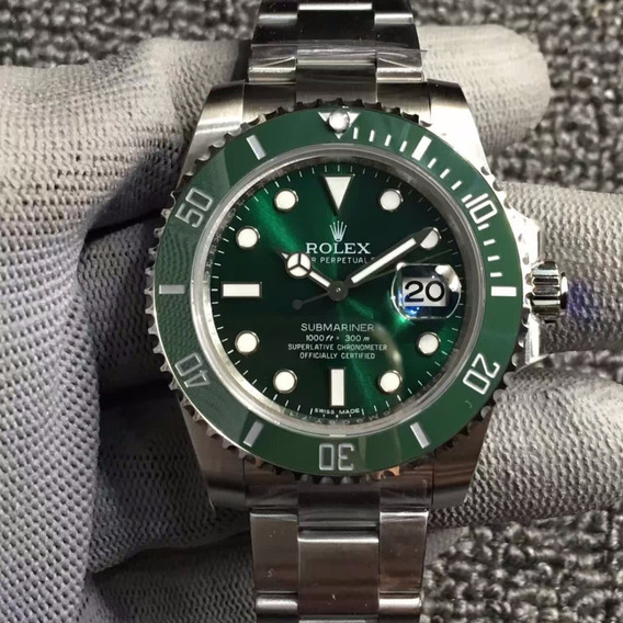 Rolex Submariner Green Verde