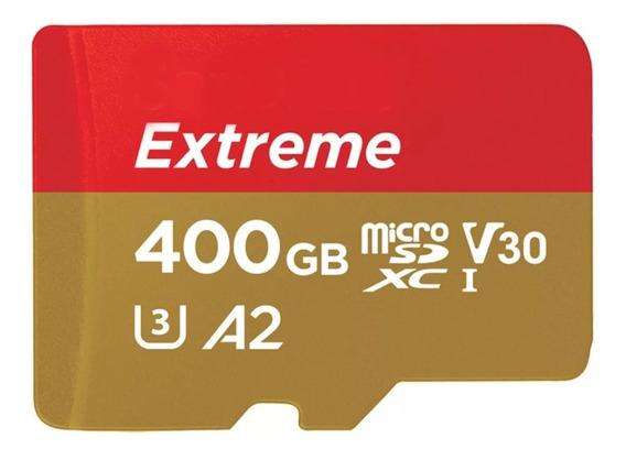 Cartao Memoria Micro Sdxc 160mb/s 400gb Video 4k Gopro Hero7