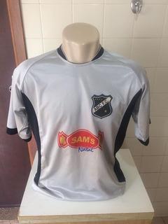 Camisa Oficial Goleiro Abc De Natal Rn #1 Eureka 2008