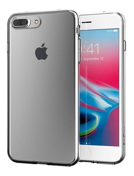 Forro Estuche Protección Artscase iPhone 8 Plus Clear/clear