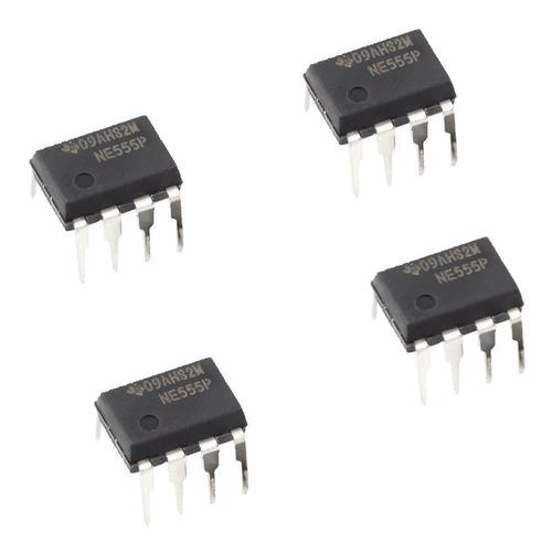 Integrado Chip Ne555 Generador De Pulsos X 4