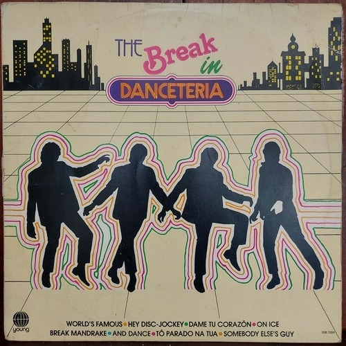 Vinil Lp The Break In Danceteria Bom Estado