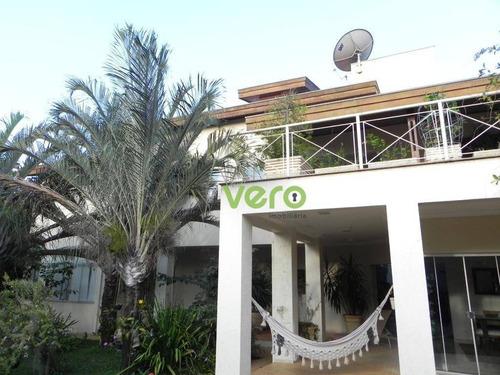 Casa Com 4 Dormitórios, 370 M² - Venda Por R$ 2.300.000,00 Ou Aluguel Por R$ 7.000,00/mês - Portal Dos Nobres - Americana/sp - Ca0149