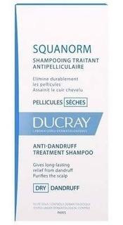 Ducray Squanorm Shampoo Tratamiento Caspa Seca 200 Ml