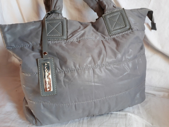 Bolzo Cartera Impermeable,color Gris