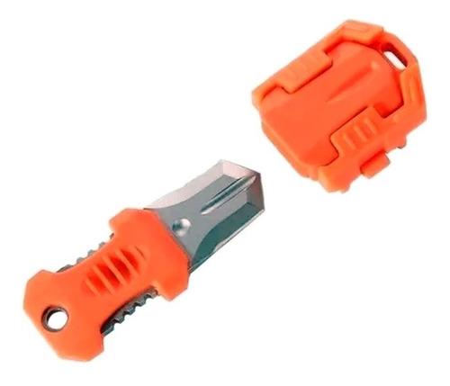 Cuchillo Molle Mini Colgar Neck Knife Tactico Edc Shiv Color