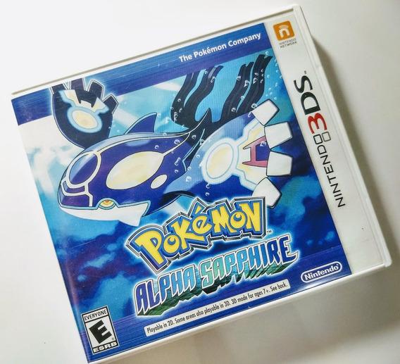 Pokemon Alpha Sapphire - Nintendo 3ds - Usado Impecável !!!