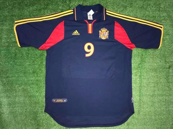 Camiseta De La Selección De España 2001 9 Morientes