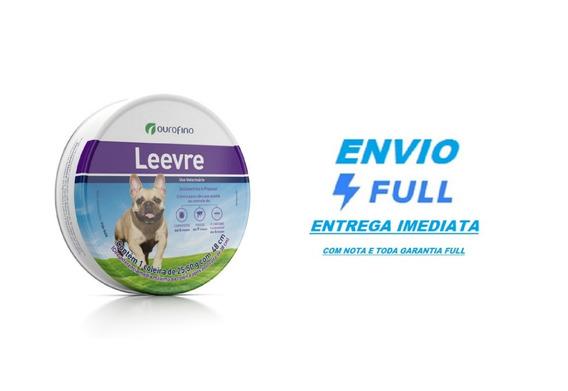 Coleira Ourofino Leevre Para Cães - Pequena 48 Cm / Full