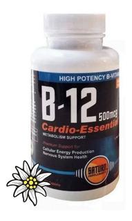 Vitamina B12 Saturn 500 Mcg X 100 Tabletas Zona Norte