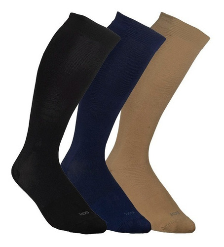 Media Compresion Sox® Alta 20-30 Varices Descanso Viaje Full