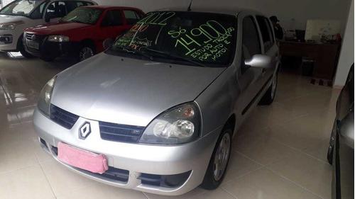 Renault Clio 1.0 Flex 2012 Menos Direção Com Débitos