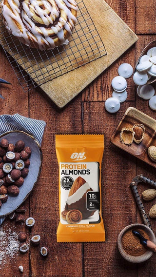 Protein Almonds Chocolate Dark 12 Packe - L a $7778