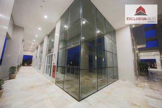 Sala Com 40 M², 2 Banheiros E 1 Vaga No Jardim Aquarius - Sa0170