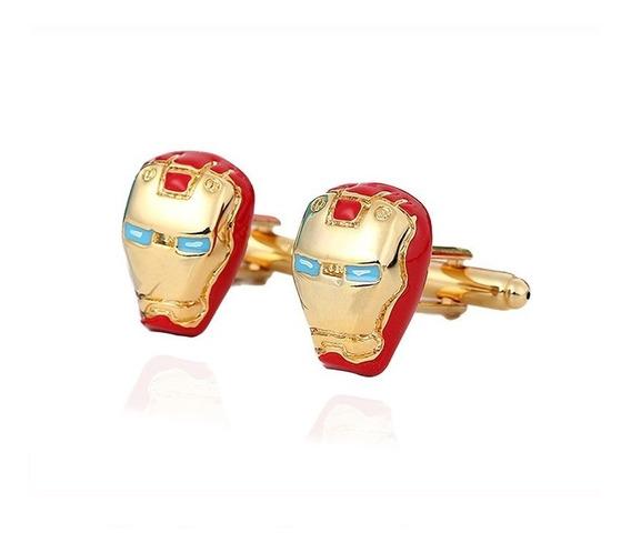 Abotoadura Homem De Ferro Iron Man Marvel